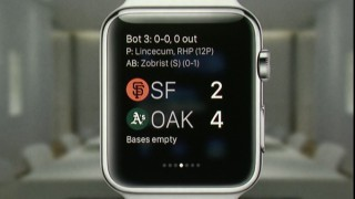 Apple Watch app pionier