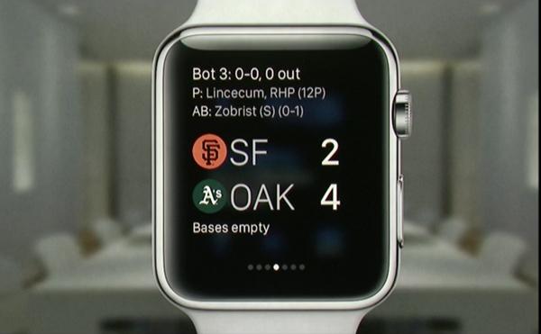 Apple Watch app pionier